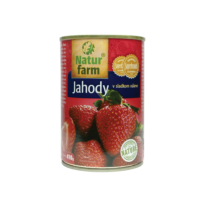 JAHODY V SLADKOM NÁLEVE - 410 g