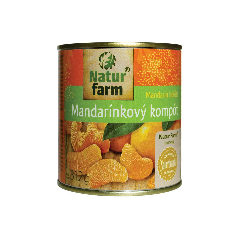 MANDARÍNKOVÝ KOMPÓT - 312 g