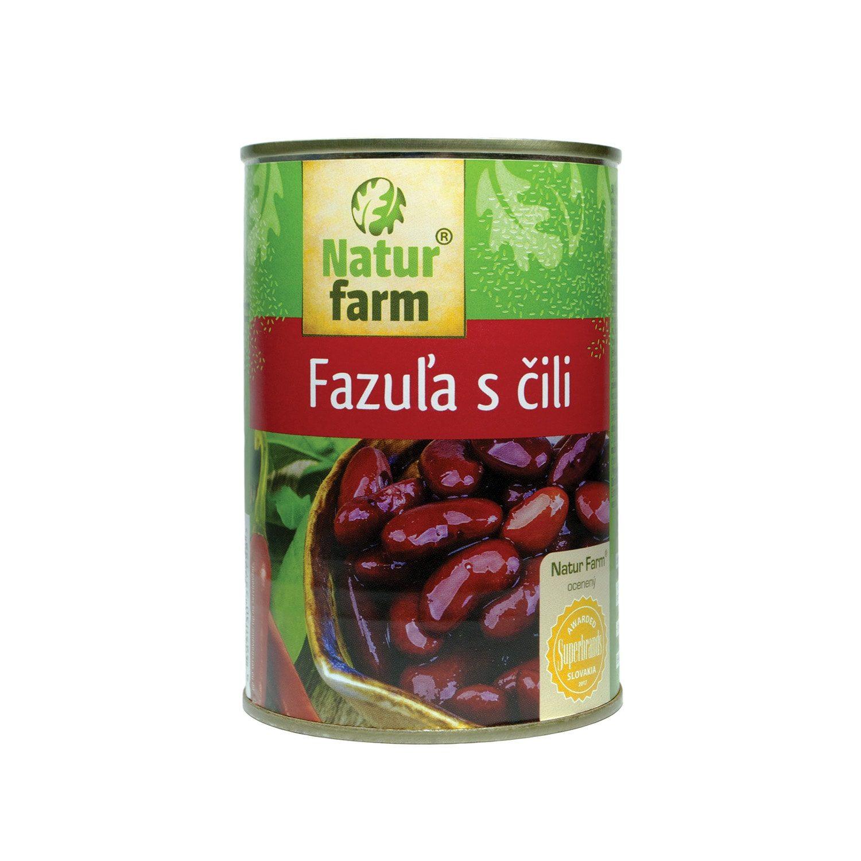 FAZUĽA S ČILI - 400 g