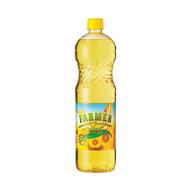 FARMER 100% SLNEČNICOVÝ OLEJ - 1 L