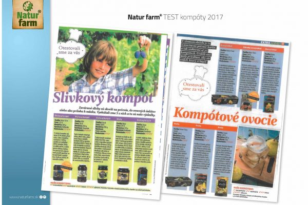 Natur farm – TEST sirupy