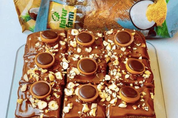 Karamelovo čokoládové rezy