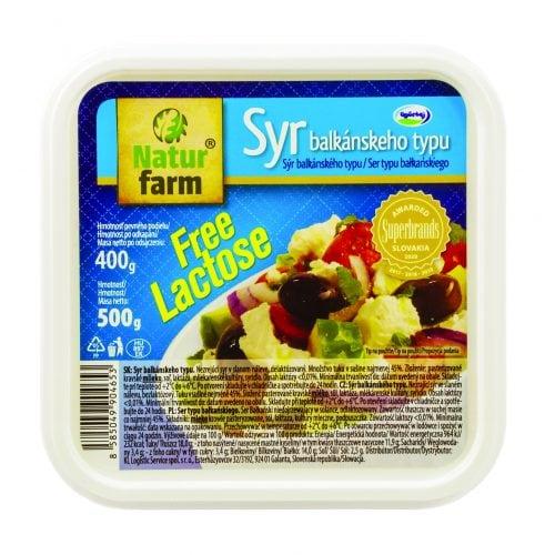 Syr Balkánskeho typu v slanom náleve bez laktozy - 500 g